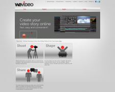 WeVideo. Monter ses videos en mode collaboratif.