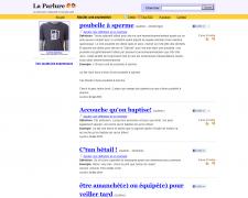 La Parlure. Dictionnaire collaboratif du francais parle.