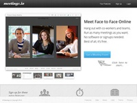 Meetings.io Service collaboratif de videoconference
