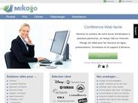 Mikogo. Partage d ecran et Web conference.