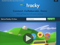 Tracky. Solution collaborative de gestion de taches.