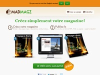 Madmagz. Creez un magazine en mode collaboratif.