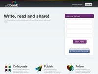 Widbook. Ecrire un livre en mode collaboratif.