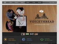 Voicethread. Lecture et commentaires collaboratifs.