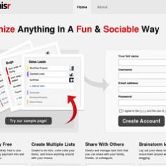 Organisr. Des to-do listes en mode collaboratif.