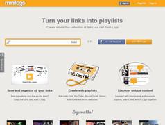 Minilogs. Des playlists collaboratives.
