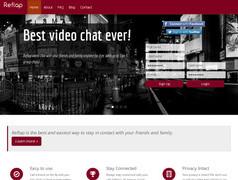 Reflap. Video Chat gratuit pour petits groupes.