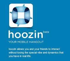 Hoozin. Application mobile pour communiquer en groupe.