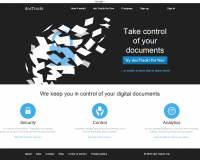 docTrackr. Partage de documents en mode securise.