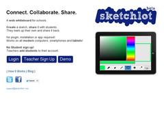 Sketchlot. Un tableau blanc collaboratif pour l'ecole