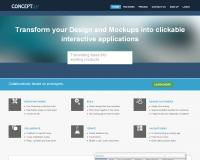 Concept.ly Outil collaboratif pour graphistes et designers.