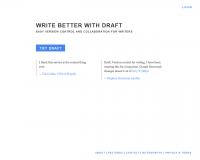 Draft. Traitement de texte collaboratif en ligne.