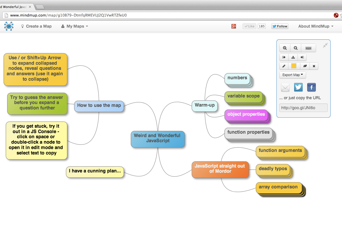 Mindmup outil de mind mapping collaboratif les outils for Building mapping software