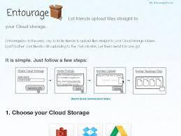 EntourageBox. Du collaboratif dans votre espace de stockage dans le cloud