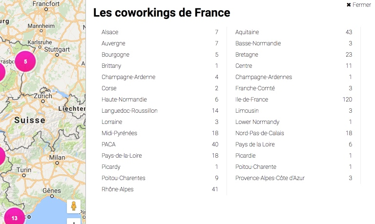 Coworking France