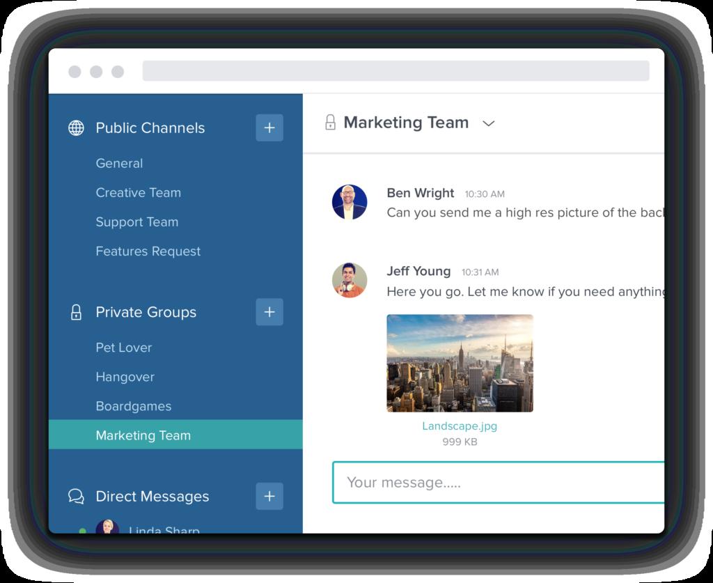 Taskworld messagerie