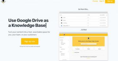 Kbee. Créer une base de connaissances depuis Google Docs