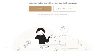 Focusmate. Coworking virtuel pour vous aider à rester concentré