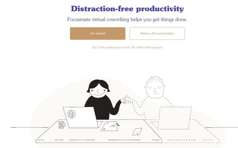 coworking virtuel