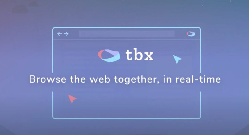 Tbx. Une extension de co-browsing simple et efficace