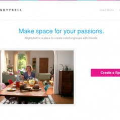 MightyBell. Un pinterest like collaboratif.