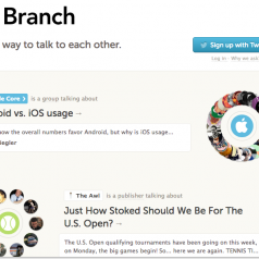 Branch. Un nouvel outil de partage et d'echanges collaboratif.