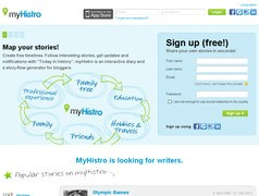 myHistro. Creer des timelines interactives.