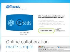Threads. Travail collaboratif et gestion de taches.