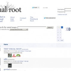 Visual Root. Outil de mind mapping collaboratif.