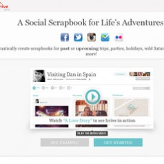 Irrive. Un scrapbook collaboratif.